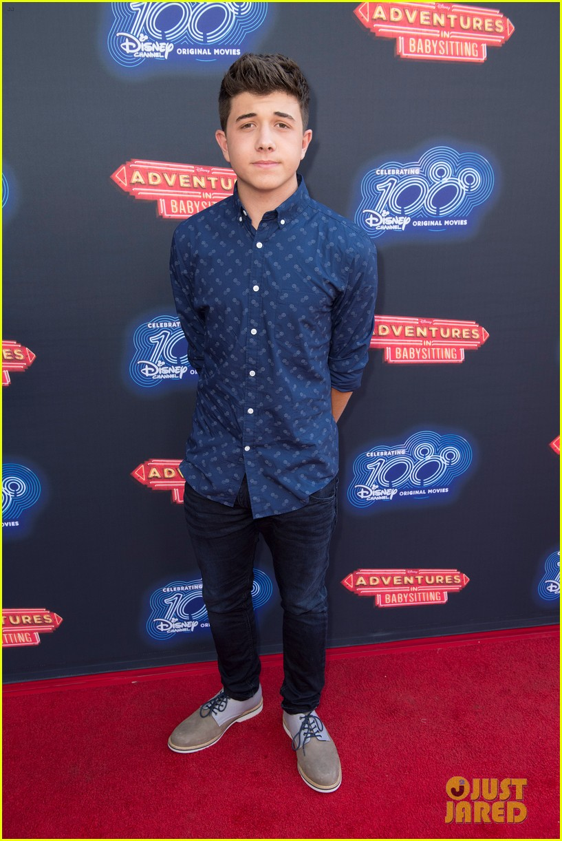 Disney Channel Stars Step Out To Watch The 100th Dcom
