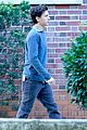 tom holland wears school sweatshirt on spider man homecoming set 03