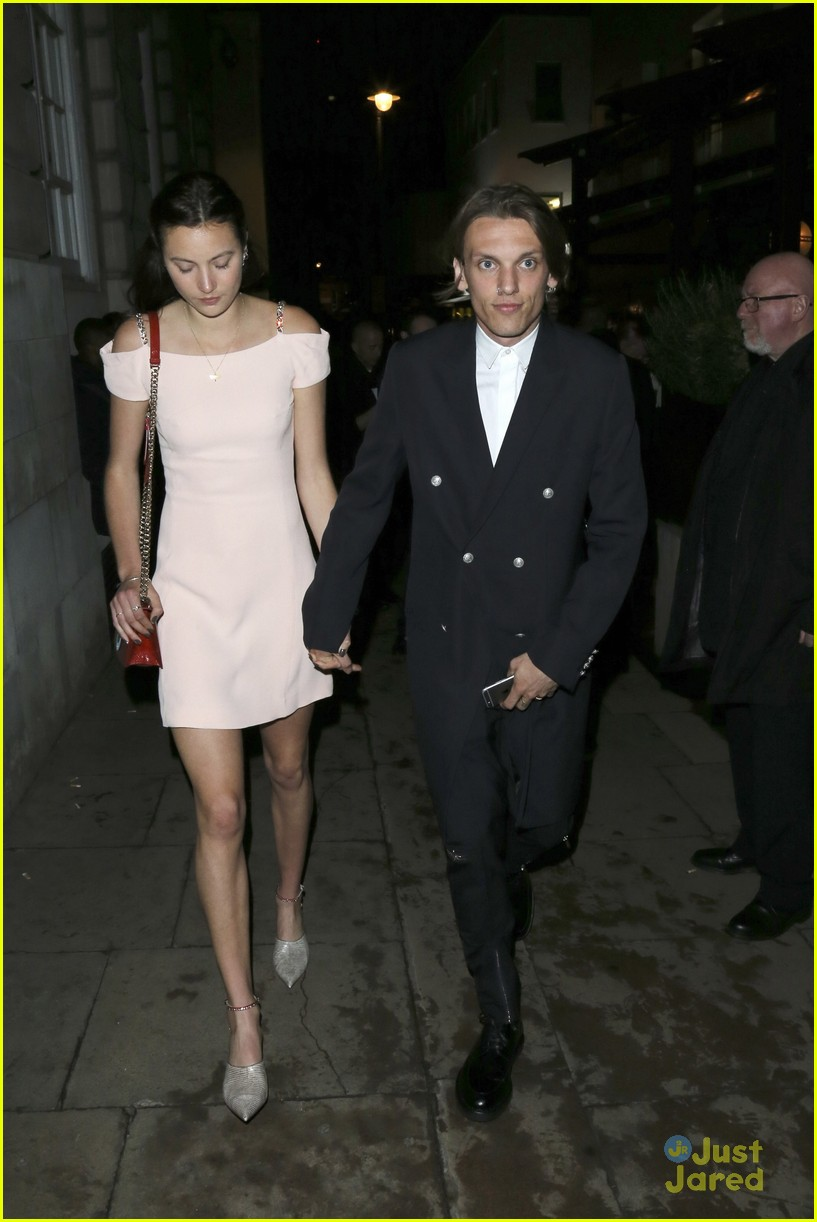 jenna coleman jamie campbell bower dior cruise after party 03