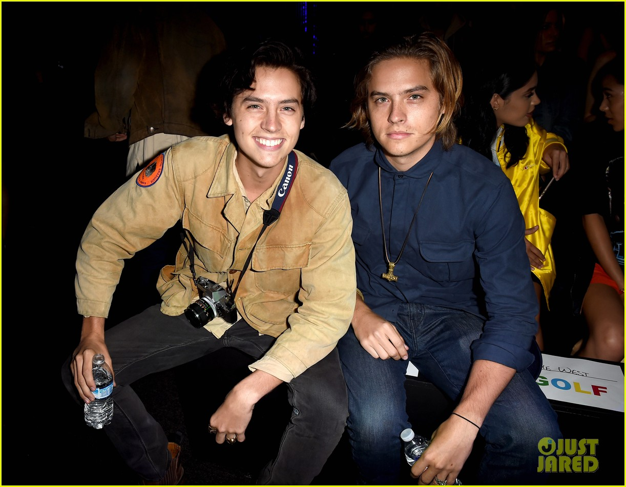 cole dylan sprouse kanye west kendall jenner tyler creator la show 07