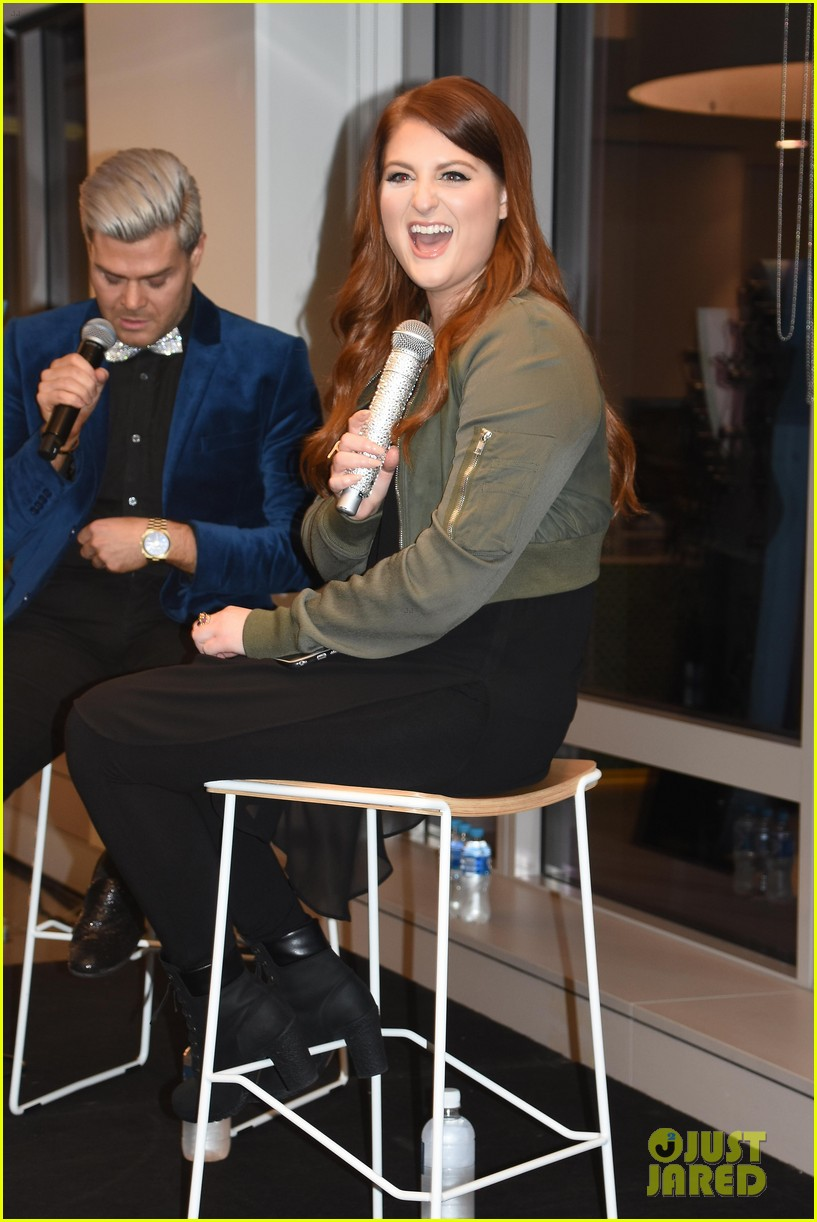 meghan trainor promo work in sydney 02