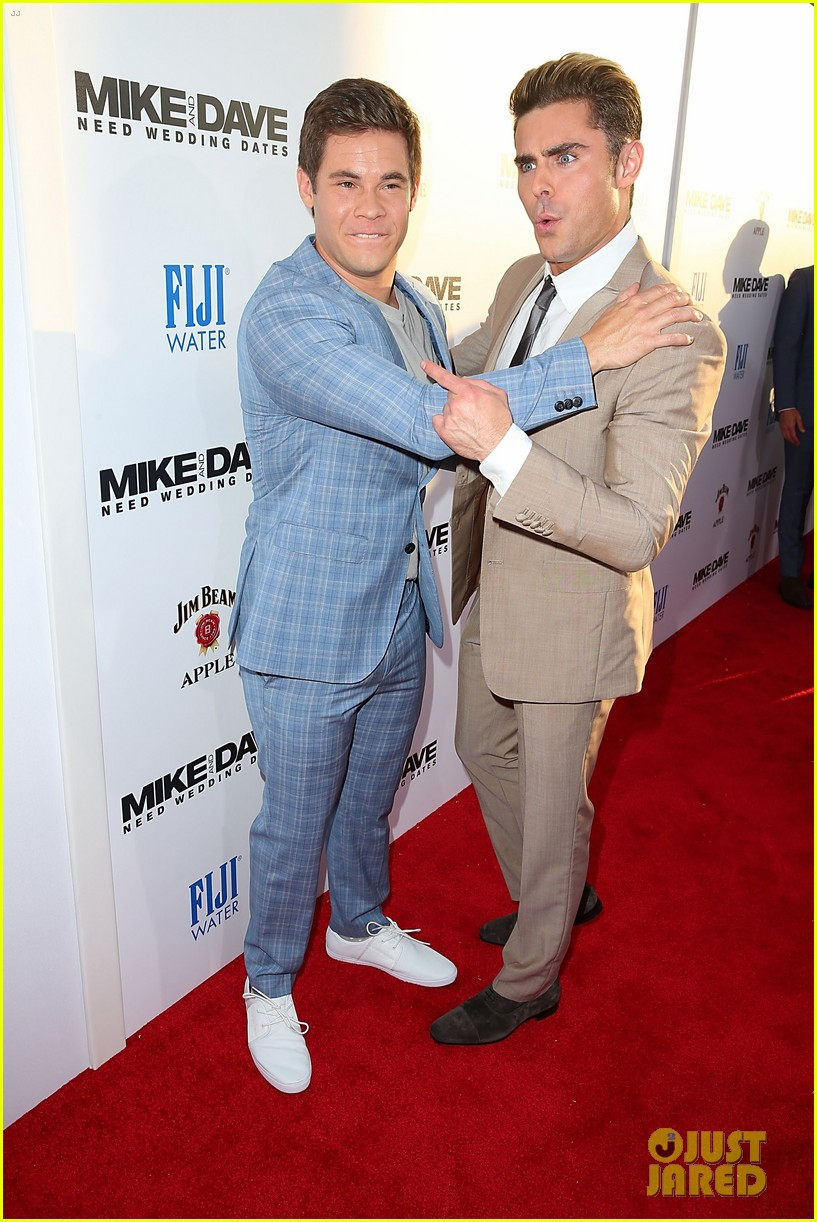 Zac Efron Suits Up for \'Mike & Dave Need Wedding Dates\' Premiere ...