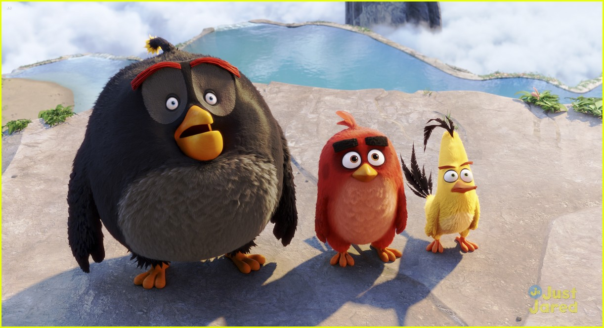 josh gad chuck angry birds clip 04