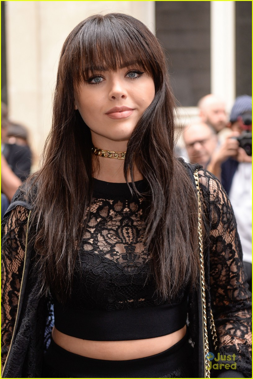kristina bazan misses valentino show glam outfit must see 02