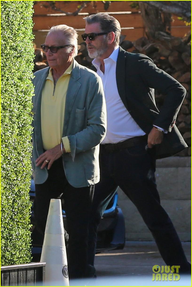 EXCLUSIVE: Pierce Brosnan Confesses! 'I Could Be Robert ...  Pierce Brosnan Son And Noah Cyrus