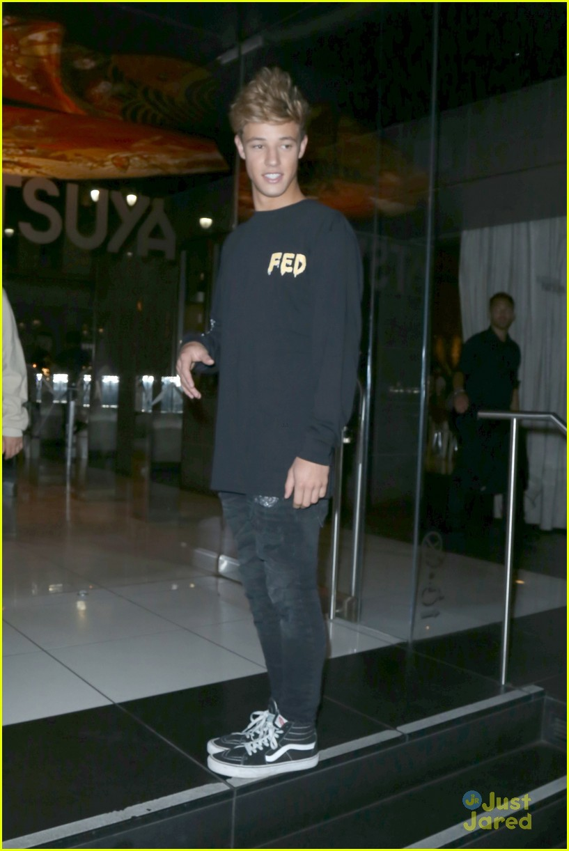 cameron dallas katsuya dinner nice tweet 10