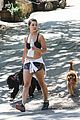 danielle campbell hike with her dogs 41