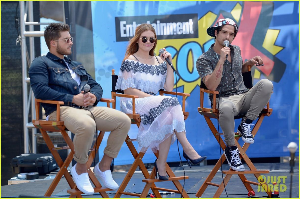 teen wolf stars power rangers more imdb yacht party comic con 16