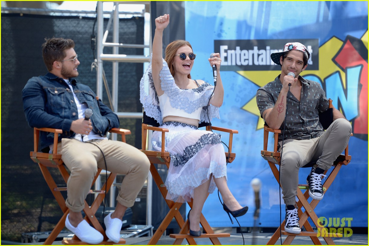teen wolf stars power rangers more imdb yacht party comic con 28