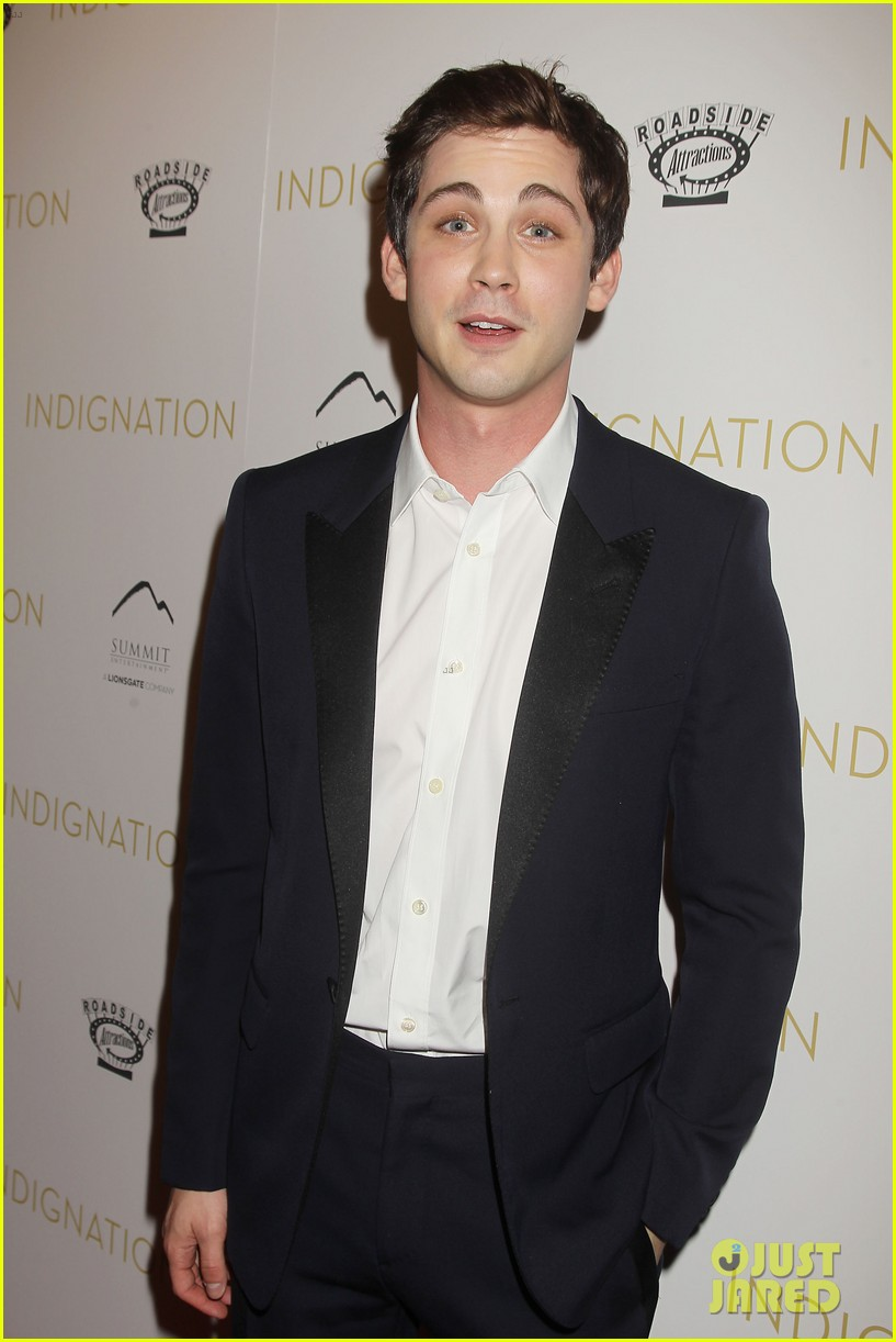 logan lerman sarah gadon bring indignation to nyc 24