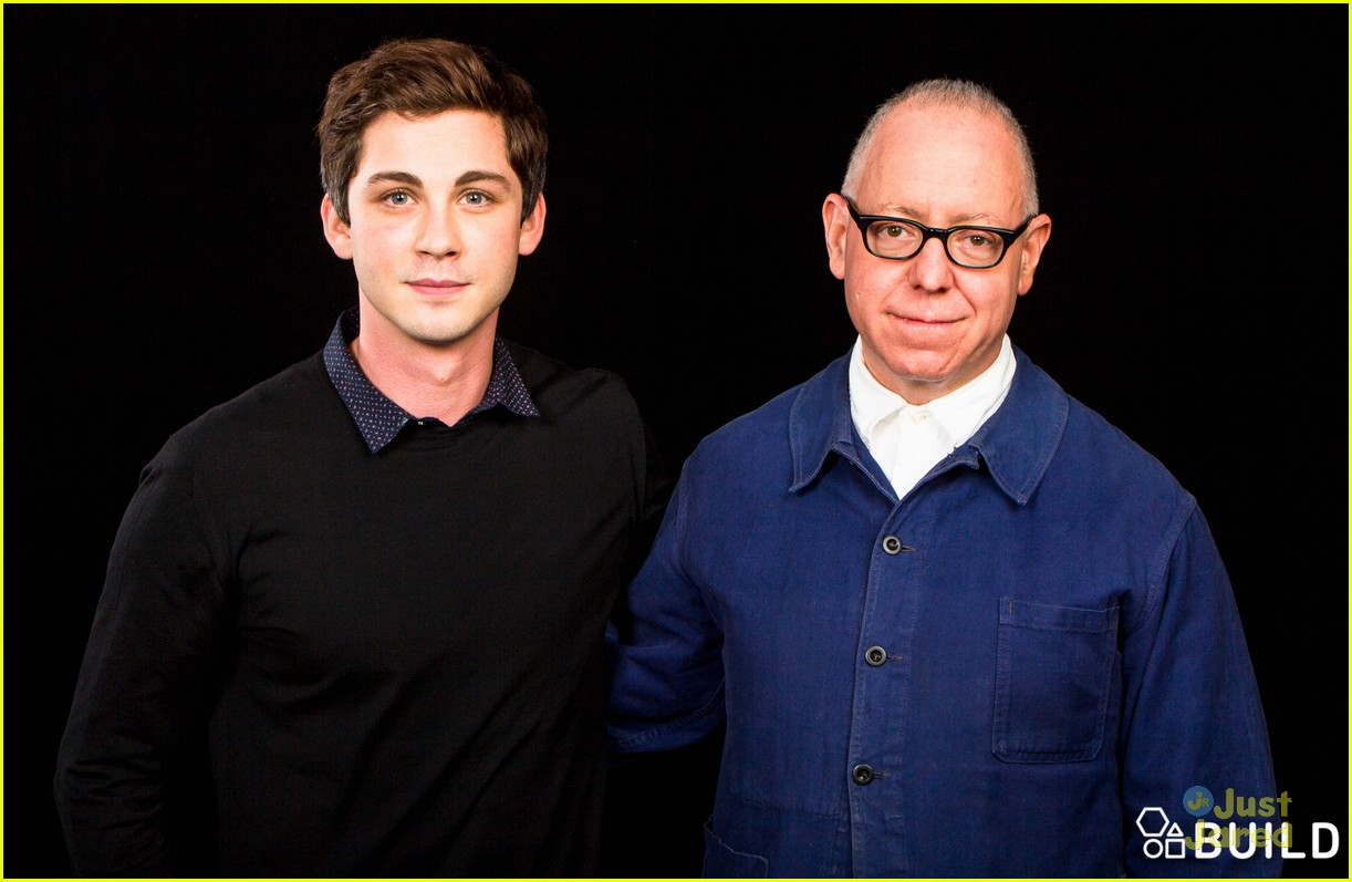 logan lerman james schamus aol build talk 08