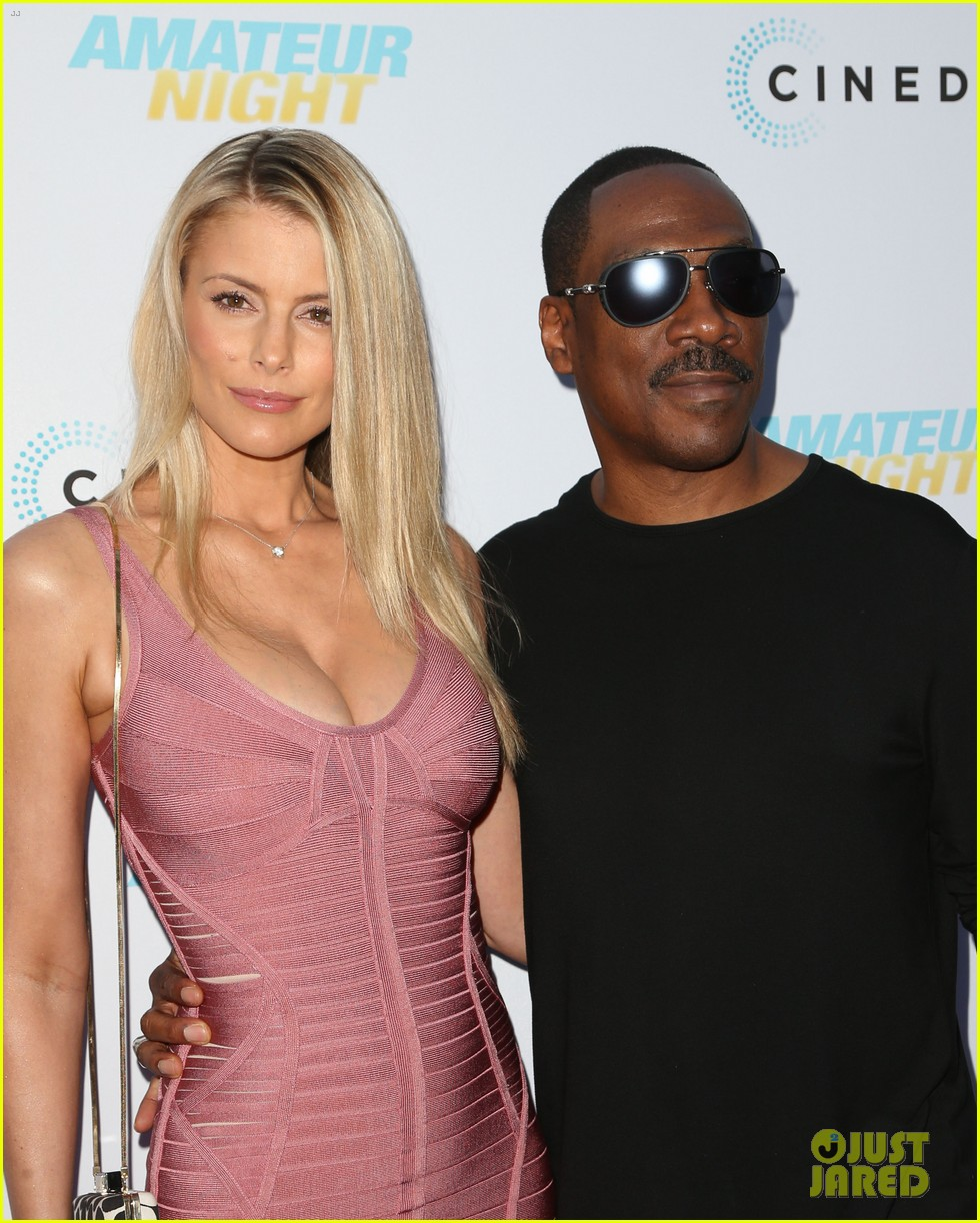 eddie murphy girlfriend paige butcher ex wife nicole mitchell support daughter bria 20