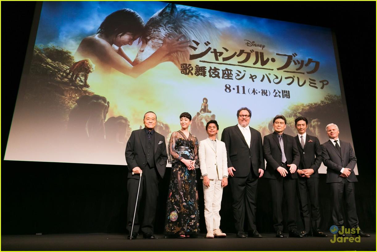 neel sethi jungle book premiere tokyo japan 04