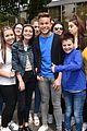 olly murs fan group pics dublin ireland visit 09
