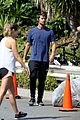 patrick schwarzenegger bike hike abby champion lunch 14