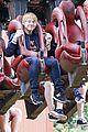 rupert grint georgia groome thorpe park event 07