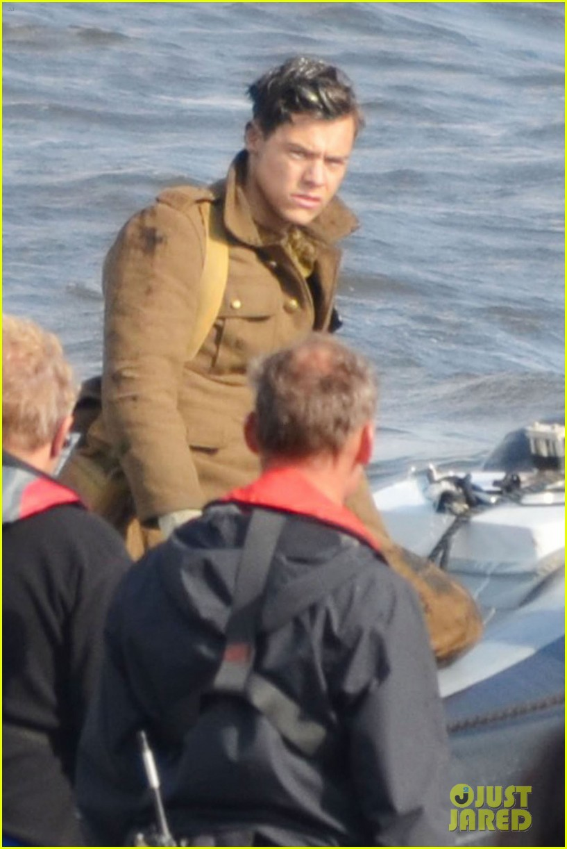 Harry Styles Gets To Work On New Movie Dunkirk Photo