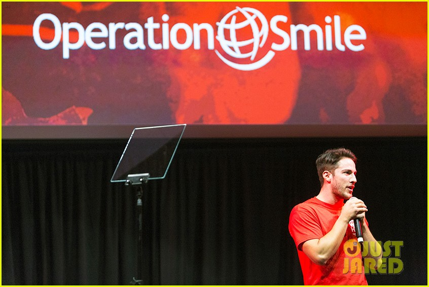 michael trevino operation smile 2016 conference 10
