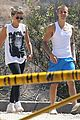 justin bieber sofia richie step out after romatic beach date 09