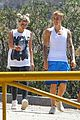 justin bieber sofia richie step out after romatic beach date 31