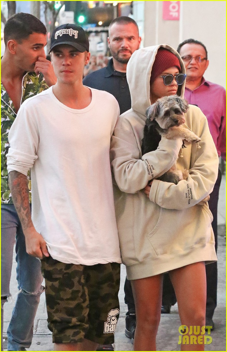 justin bieber takes sofia richie out after her 18th birthday 06