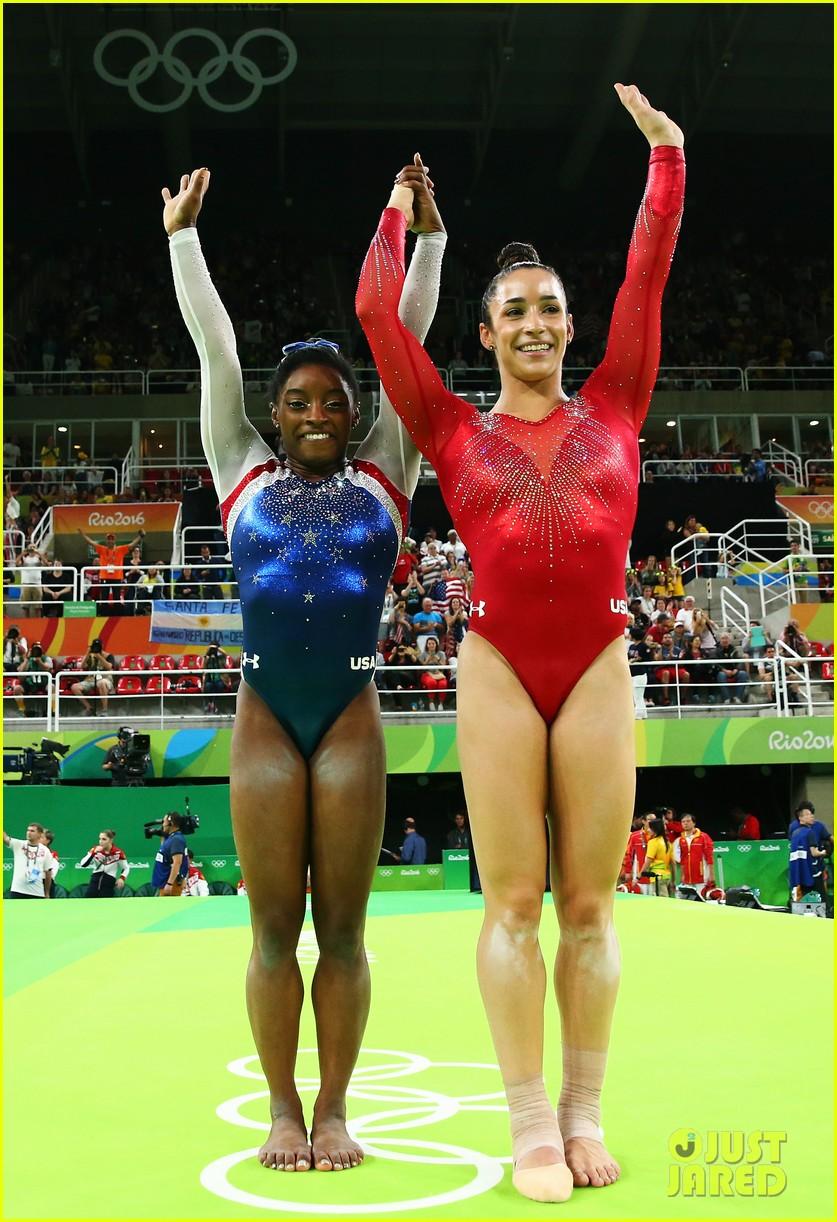 Simone Biles & Aly Raisman Take the Top