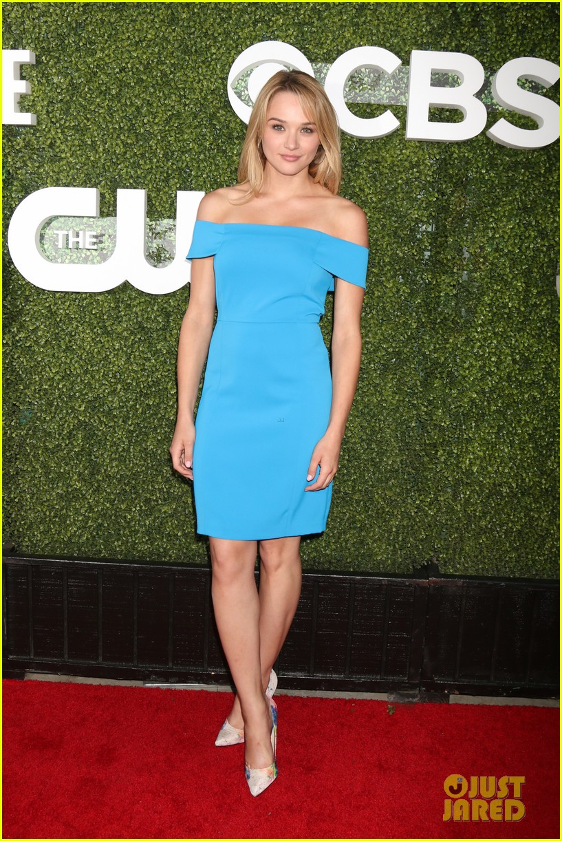 gina rodriguez justin brett lucy fry hunter king cbs party 22