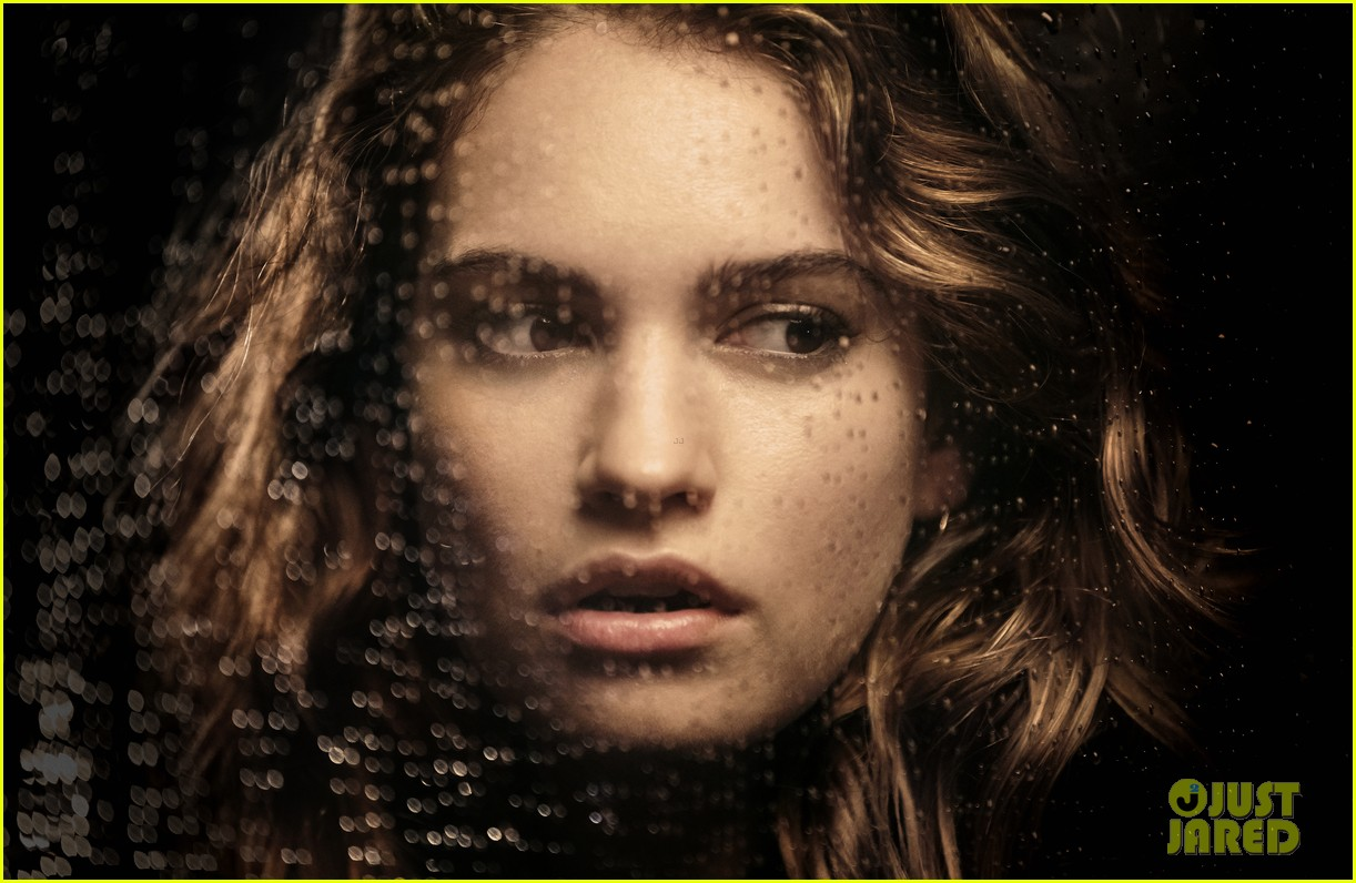 lily james burberry campaign 02