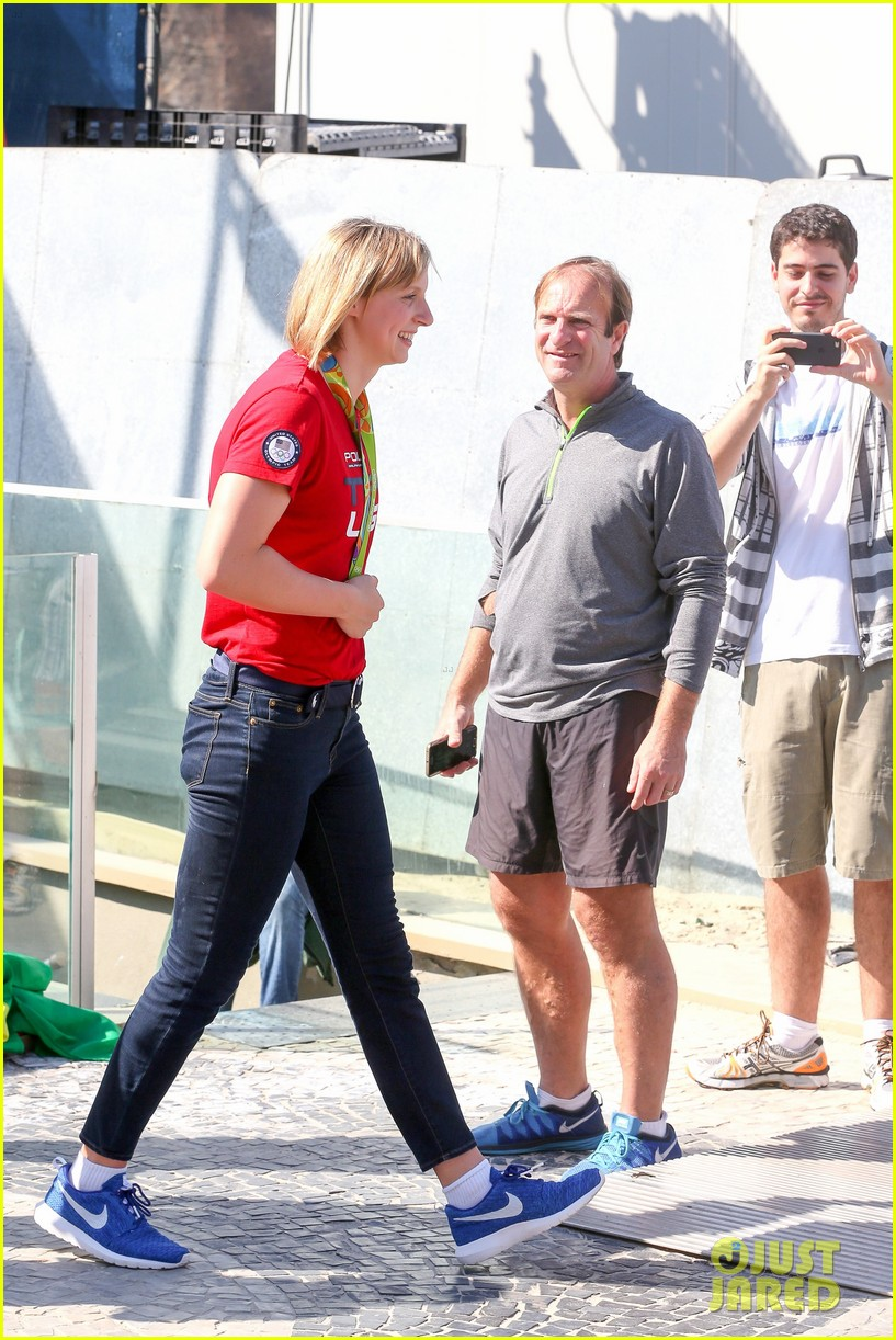 katie ledecky steps out in rio 06
