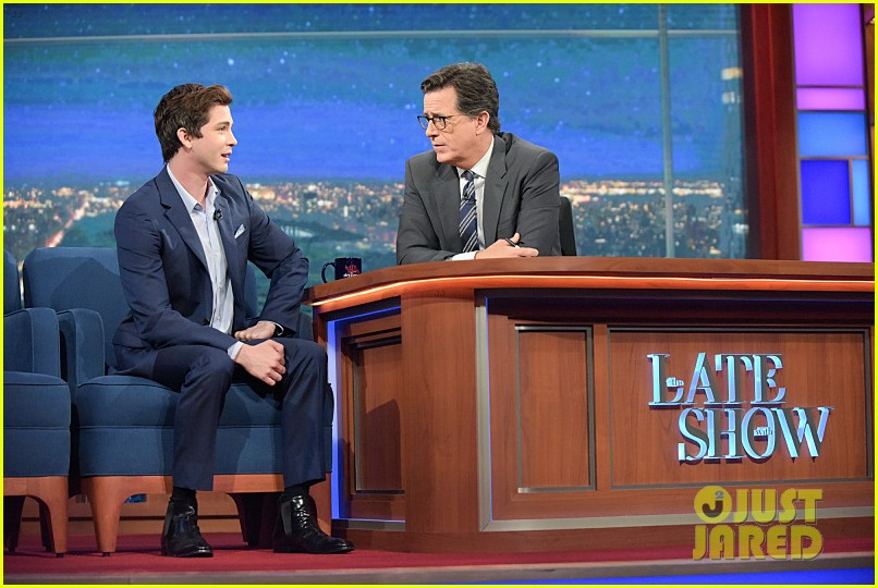 Logan Lerman Was a 'Little Bit of a Jerk' While Working With Brad