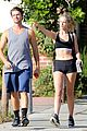 patrick schwarzenegger abby champion boxing sweat 20