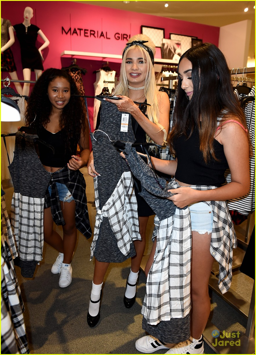 Pia Mia Hosts Special Material Girl Meet Greet In Los Angeles