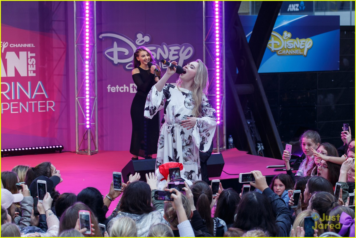 Sabrina Carpenter Performs At Disney Channel's FanFest In