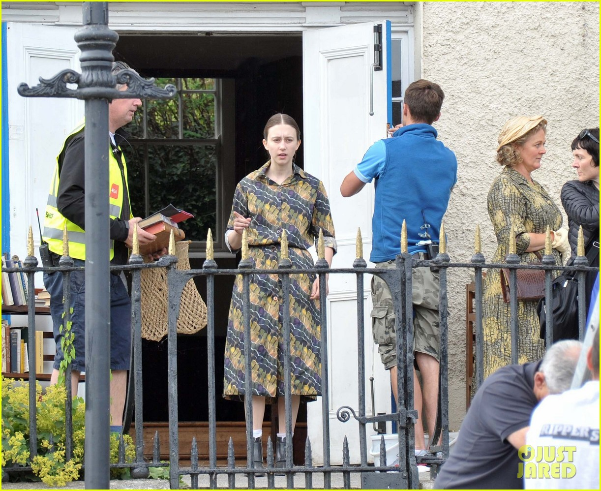 sebastian stan taissa farmiga filming movie ireland 16