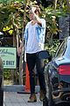 harry styles steps out for lunch at rande gerbers cafe habana 14