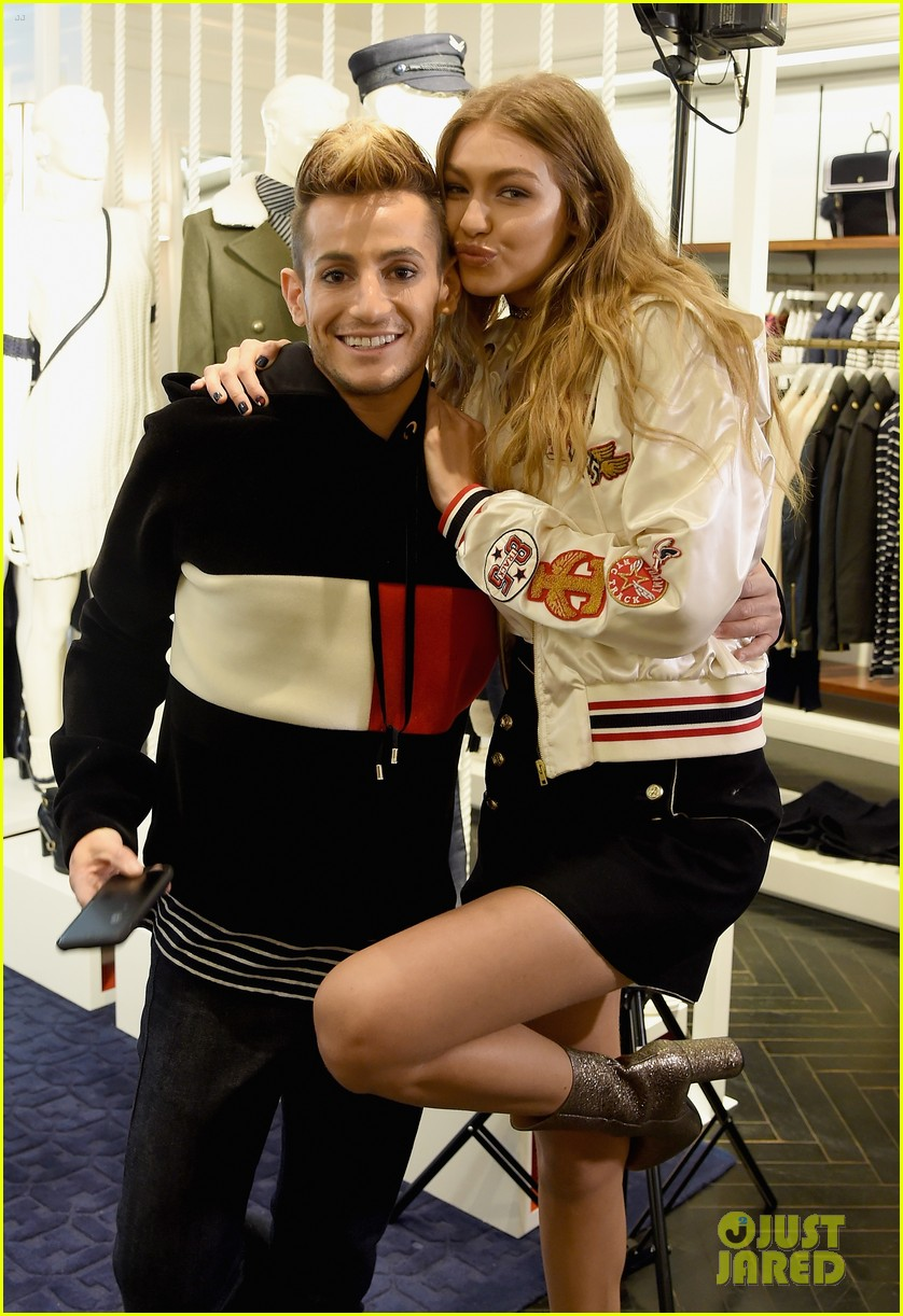 ba294be3f Gigi Hadid Promotes  TommyxGigi  Fashion Collection with Tommy ...