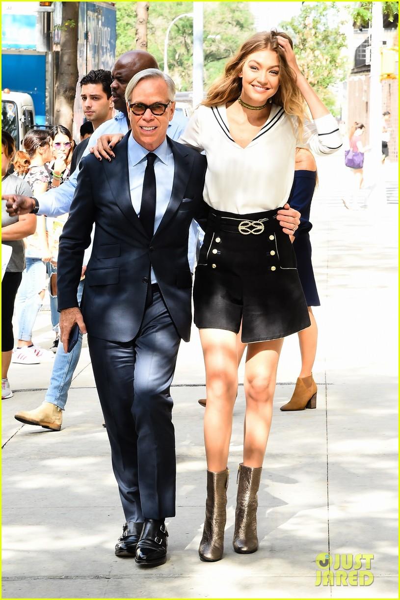 Gigi Hadid Promotes 'TommyxGigi' Fashion Collection with