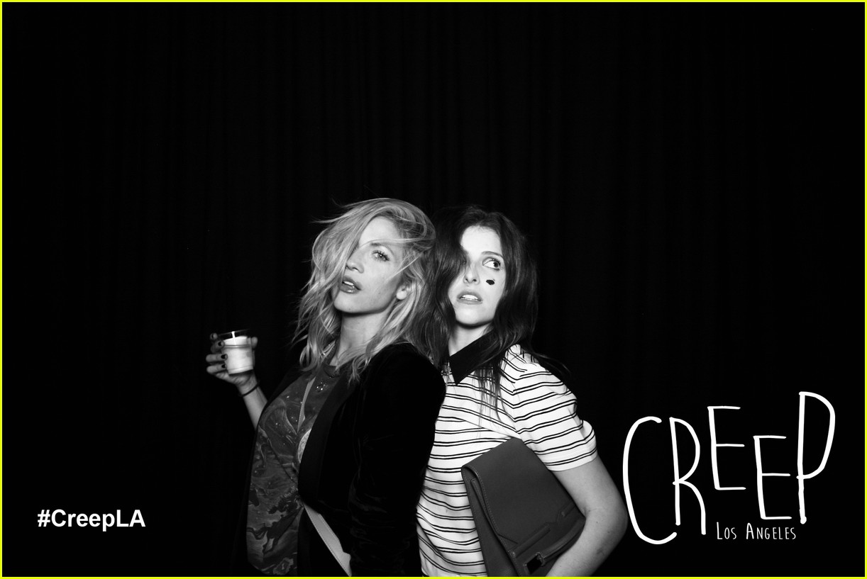 anna kendrick brittany snow reunite for some creepy fun 02
