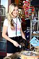 lindsay arnold shopping farmers market husband 17