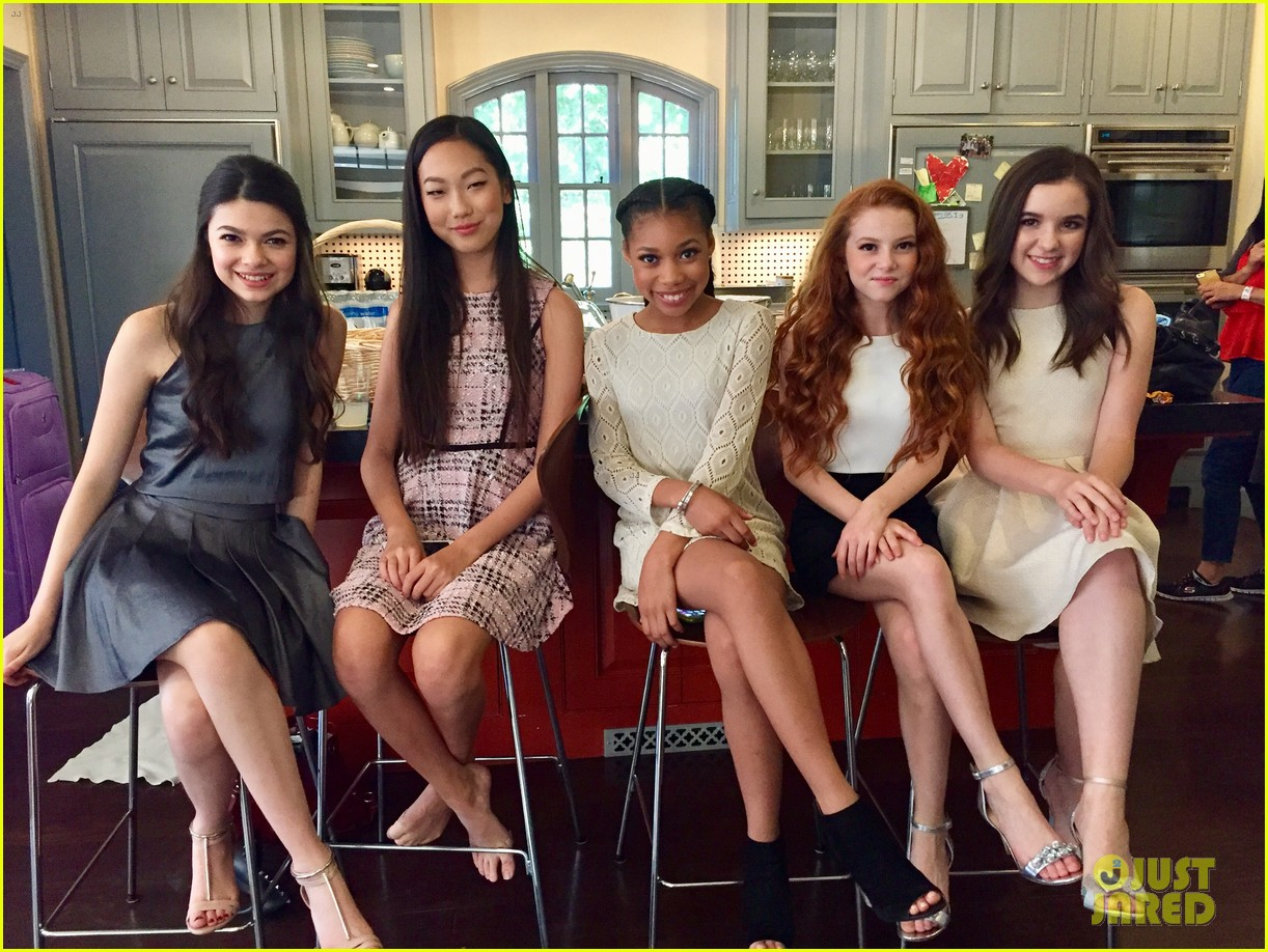 16fa8f3a5584d Francesca Capaldi, Madison Hu, & More Star in 'Sally Miller ...
