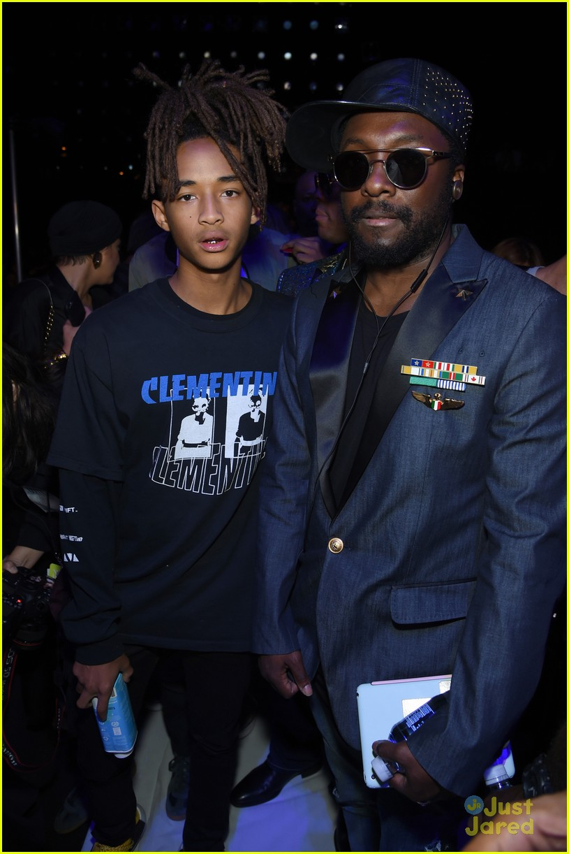 jaden smith sarah snyder front row hood by air nyfw 12