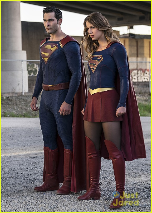 supergirl season 2 premiere photos superman 05