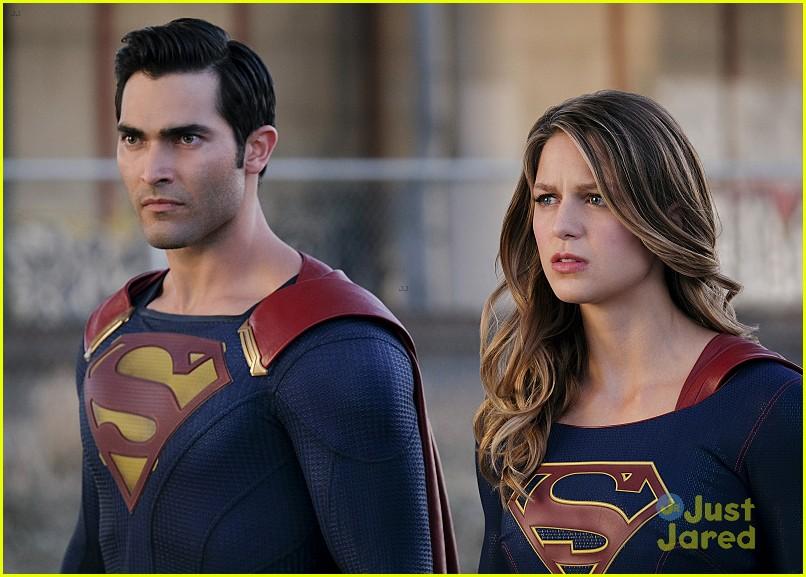 supergirl season 2 premiere photos superman 16