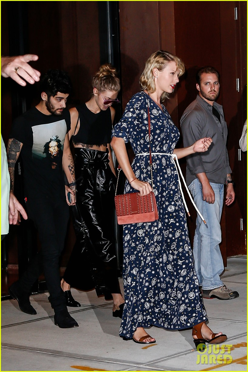 taylor swift spends the night hanging out with bff gigi hadid and zayn malik3 03