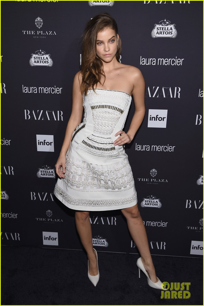 victoria justice peyton list barbara palvin more harpers icons event 20