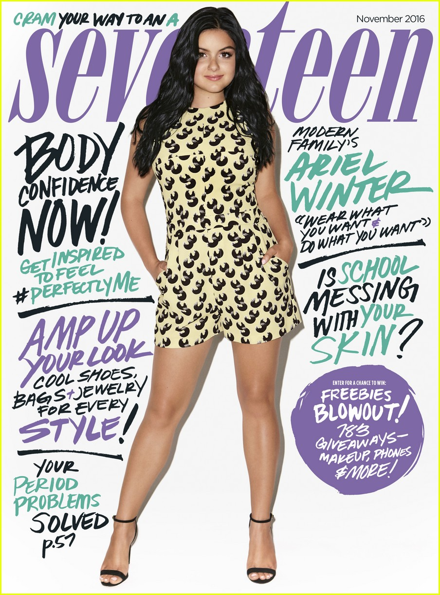 0acc108a19 Ariel Winter Tell Herself Every Day: 'I Look Fabulous' | Photo ...