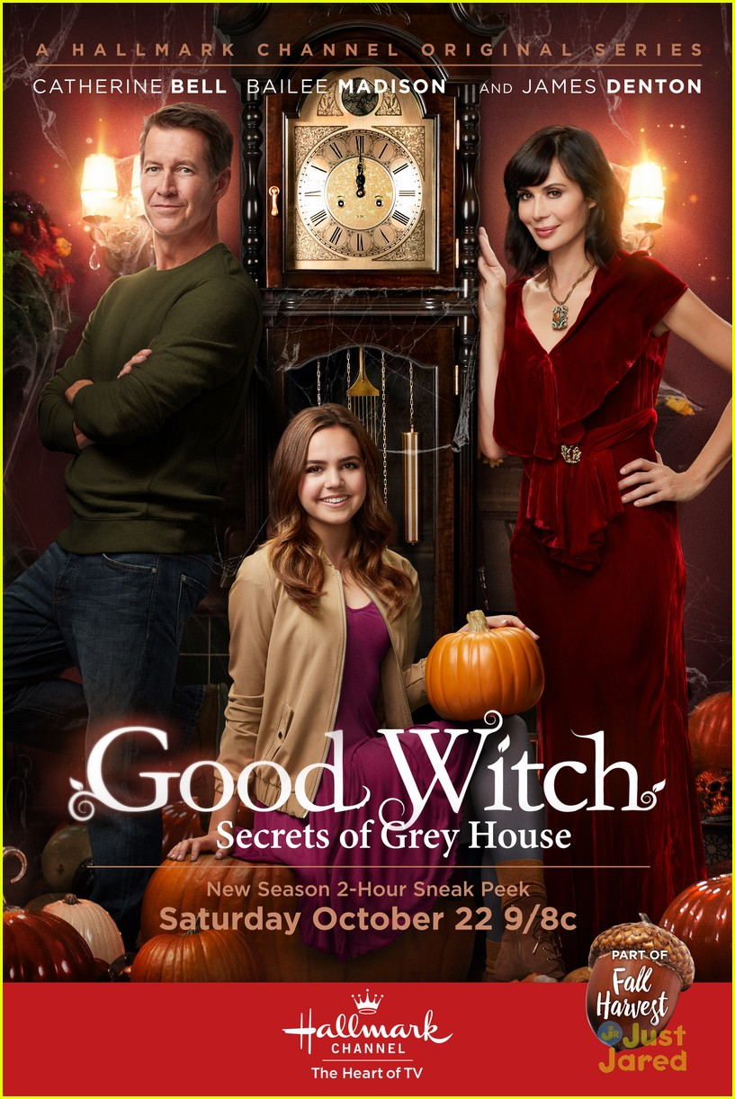 Bailee Madison Gets A Thirst For Adventure in 'Good Witch' Fall ...