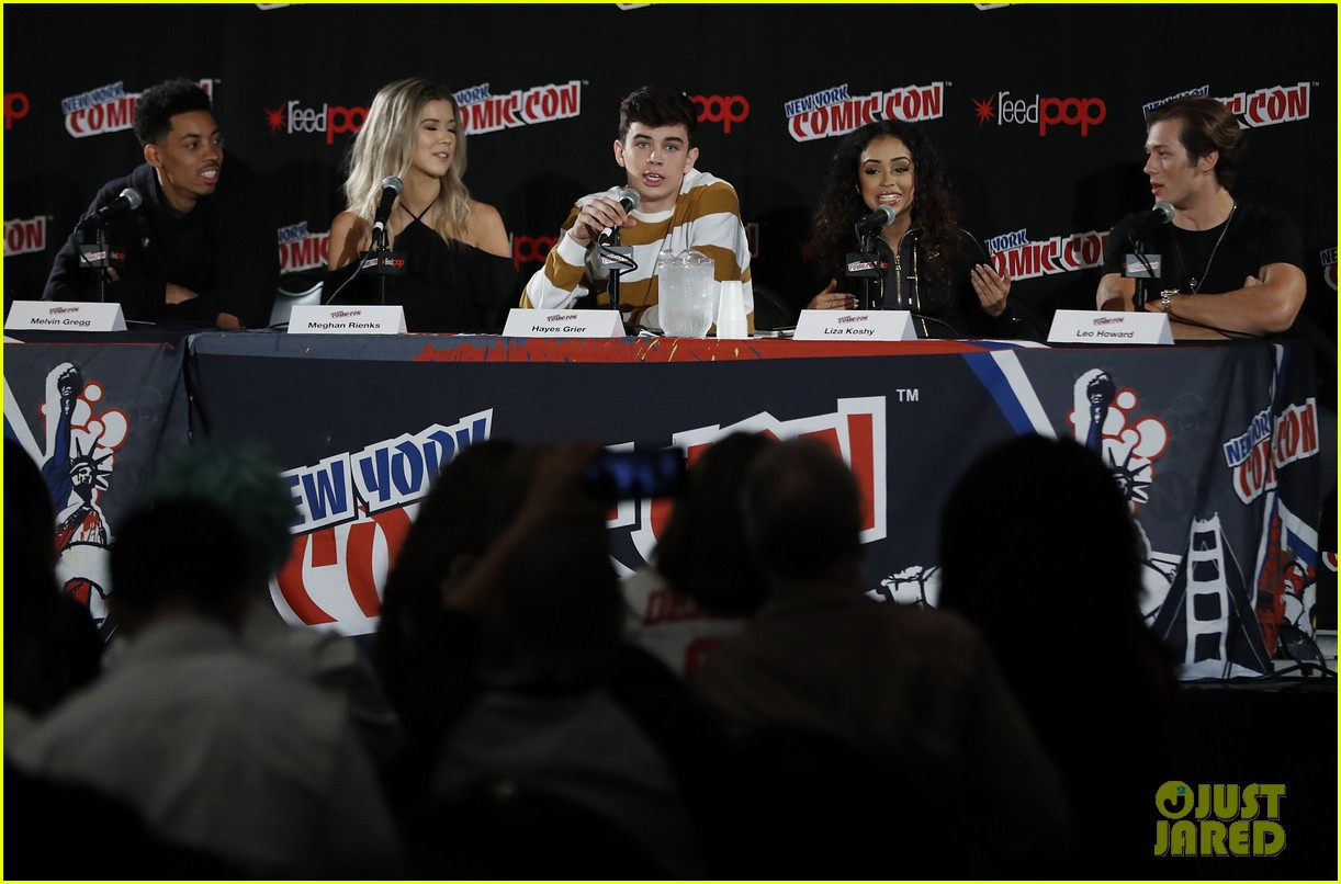 hayes grier freakish panel 2016 nycc 01