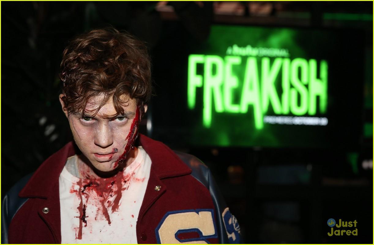 leo howard adam hicks more freakish cast premiere 20