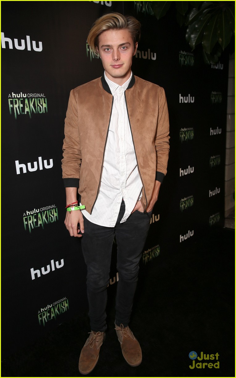 leo howard adam hicks more freakish cast premiere 22
